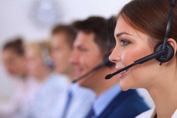 Kundenberater zu Fragen rund um Computer und EDV