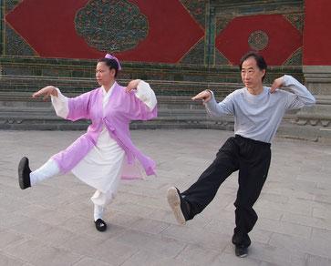 Tien Shue et Qin Xia