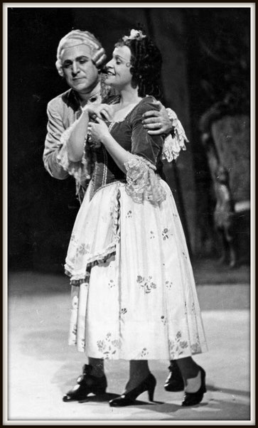 Il Conte di Almaviva - Le nozze di Figaro di W.A.Mozart - con Judith Helwig (Susanna) - Teatro Colon 22.8.1941