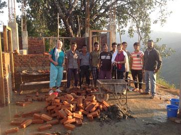 Ecole SamajSudhar Novembre 2016  Equipe de travail