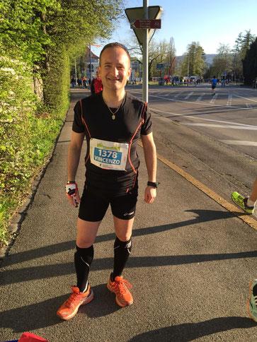 Vincenzo Cataldo, Zürich Marathon 2015