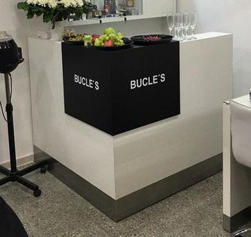 mueble recepcion bucles