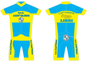 Ecco in anteprima le nuovi uniformi della Sez. Ciclismo che andranno in produzione tra poche settimane.