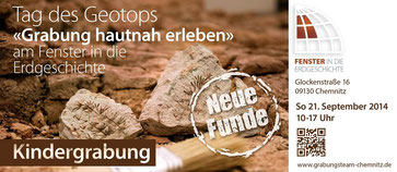 Tag des Geotops Chemnitz