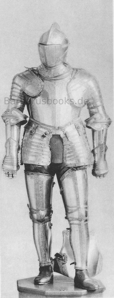 Ganzer Turnierharnisch des Paolo Giordano Ursini, Herzogs von Bracciano.