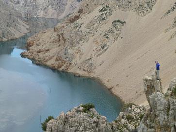 Thomas auf der Nadel/Zrmanja-Canyon