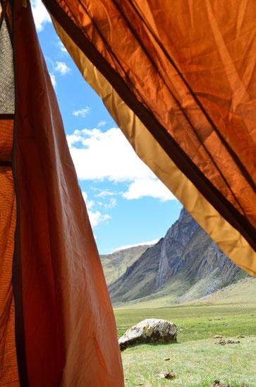Jede Zeltnacht ist ein kleines Abenteuer.
