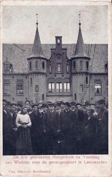 ansichtkaart gebroeders Hoogerhuis