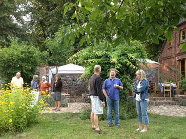 Garten Genuss Event am 10.08.2013 in der LandLust Rauschendorf.
