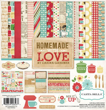UK Stockist Carta Bella Homemade WIth Love