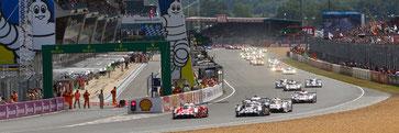Les 24 heures du Mans auto