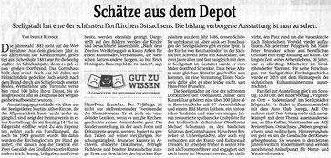 Bild: Teichler Seeligstadt Depotschätze