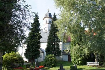 Bild: Teichler Seeligstadt Lauterbach Kirche