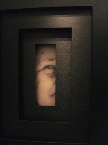Zeitfenster, 2008, Leuchtkasten, Polystyrol, Plexiglas, Fotografie auf Folie  44 x 53 x 20 cm