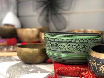 Bols tibétains, bols cristals le son de la guerison