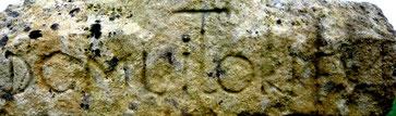 Détail : Inscription 1451 (DCMLI) et Torre