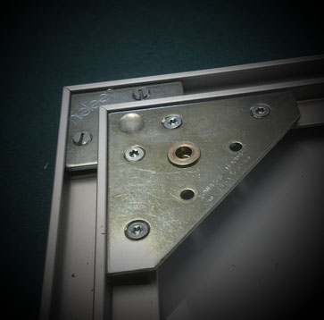 Leinwand einrahmung - Alu-Profilrahmen mit Bildaufhänger