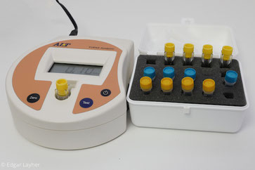 Analyse im Colorimeter