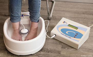 Detox-Fußbad zur Entgiftung über die Fußsohlen
