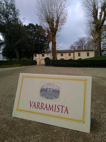 Fattoria Varramista, Toscana, Italia. Itinerari di vino. Blog Etesiaca