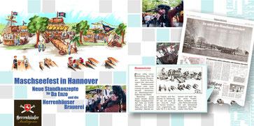 Neues Standkonzept für Maschseefest Hannover für ein Piratenfest