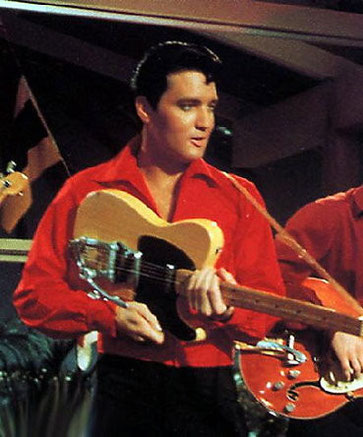 "Elvis im Film ""Girl Happy""."