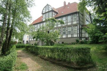 Gutshaus der Bock von Wülfingen in Elze aus Richtung der Oehlmühle