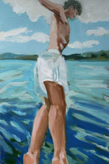 O.T. , 2016 Acryl auf Leinwand 60x40
