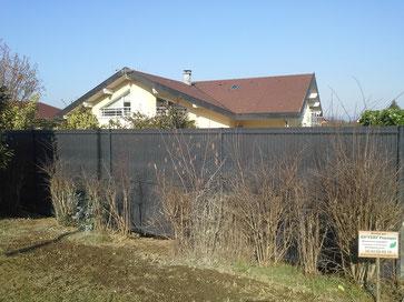 clôture panneau rigide bentafence