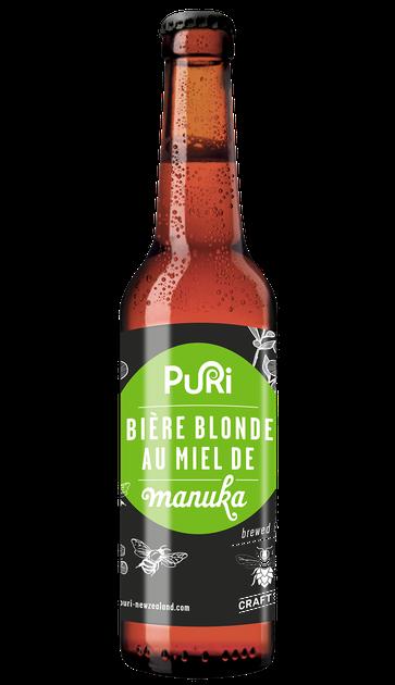 Bière au Miel de Manuka