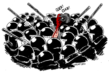 Cartoon by LATUFF 2011