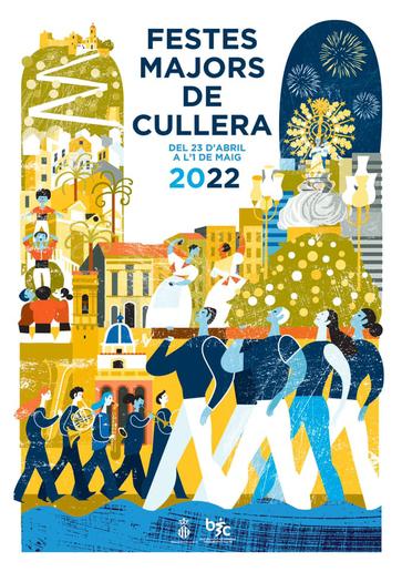 Programa y Cartel de las Fiestas Mayores de Cullera