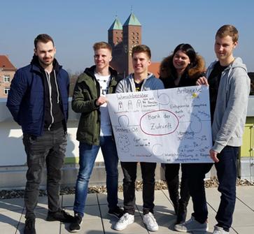 "Projekt ""Bank der Zukunft"" - Berufsschule 4 Nürnberg"
