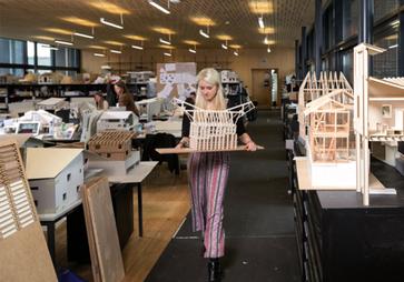 Modellbau Architektur Campus Horw