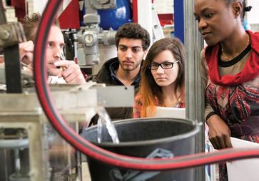 """Auf dem Campus forschen Studierende über """"Energy Systems"""". (Archivbild: Martin Vogel)"""