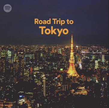 Road Trip To Tokyo - Spotify Playlist