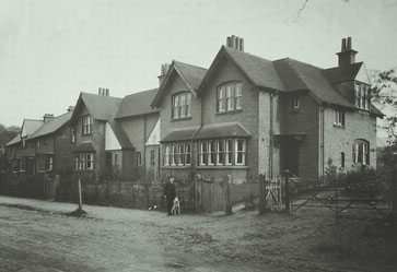 Houses in Hay Green Lane; photo Bournville Village Trust