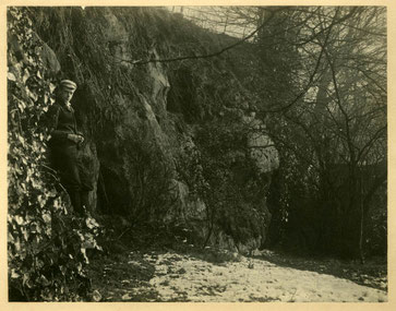 The Dwarf Holes photographed by Sir Benjamin Stone c1895