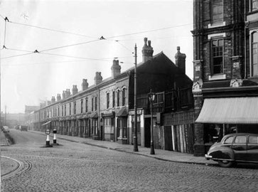 Aston Brook Street 1950s?; image from Aston Brook Through Aston Manor website