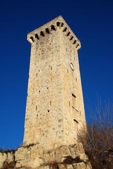 Tour des Castellane à Saint-Martin-de-Bromes