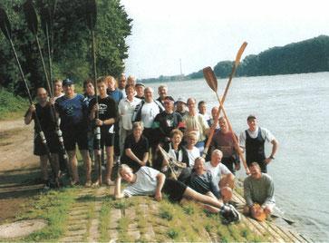 Rhein-Wanderfahrt 2000