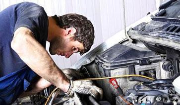 visita el taller mecánico - AorganiZarte