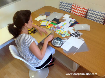 organiza tus etiquetas - organiza los sobres - organiza los protectores - aorganizarte.com