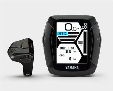 Das Yamaha Display C ist das größe e-Bike Display von Yamaha und verfügt über viele Zusatzfunktionen