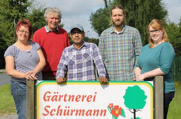 Das Team der Gärtnerei Schürmann
