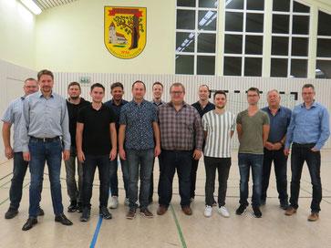 Der aktuelle Vorstand des Heimatschutzverein Herbram im Jahr 2021
