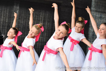 Neben vielen gesanglichen konnten am Sonntag auch zahlreiche tänzerische Auftritte bewundert werden.