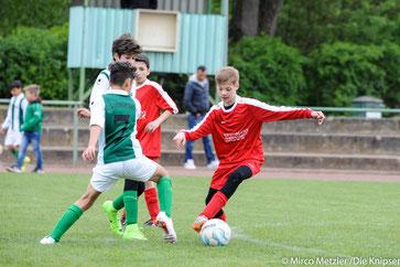 Trotz vieler Versuche ließ der Gegner des FSV Osthofen diesem kaum Chancen.