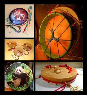 Hoop Drums from Shaman Drums And More
