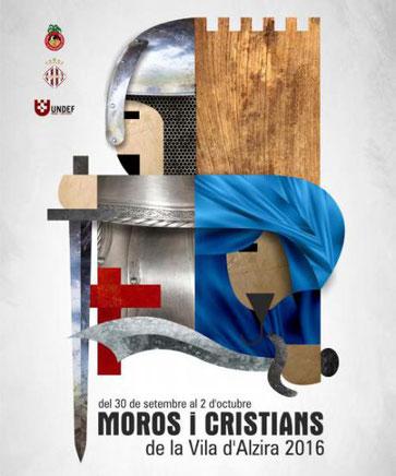Fiestas en Alzira Moros y Cristianos Programa